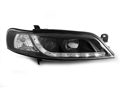 Lampy Przod Opel Vectra B 99 02 Black Led Diodowe Pajeczno Allegro Pl