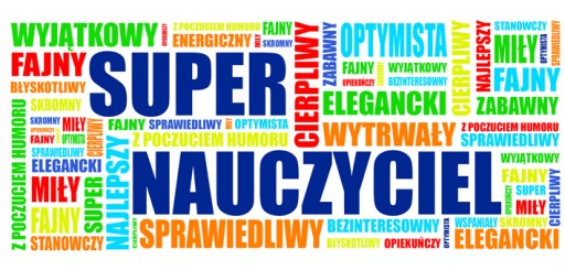 Kubek dzień Nauczyciela nadrukiem SUPER NAUCZYCIEL