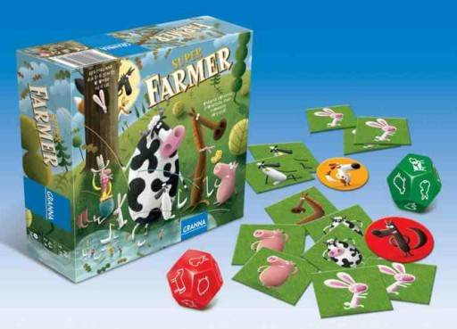 Granna Gra Super Farmer Gra Planszowa Dla Dzieci 5007154110 Allegro Pl
