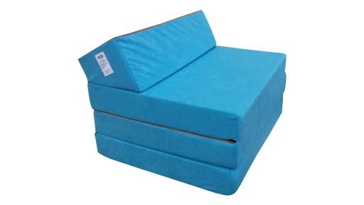 Fotel Materac Składany łóżko Dostawka Rozkładany