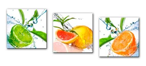 Obrazy Tryptyk Owoce Różne Obraz Do Kuchni 150x50