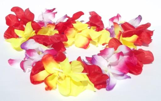 Kwiaty Hawajskie Wieniec Hawajski Girlanda