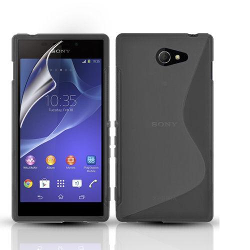 Sony Xperia M2 Guma Gumowe Etui Case S Line Szklo 6807721480 Sklep Internetowy Agd Rtv Telefony Laptopy Allegro Pl