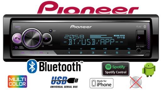 Radio Samochodowe Pioneer Mvh S510bt Iphone Usb 7677858969 Sklep Internetowy Agd Rtv Telefony Laptopy Allegro Pl