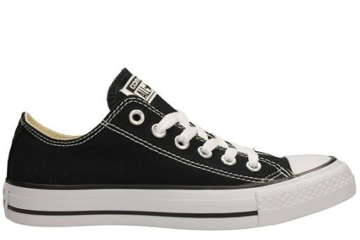 Czarne Tekstylne Buty Trampki Converse rozmiar 45