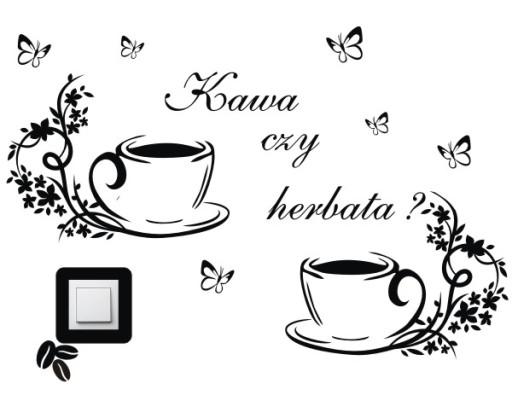 Naklejki Na ścianę Do Kuchni Kuchenne Kawa 5964467092 Allegropl