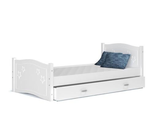 łóżko Dla Dzieci Materac Szuflada Daisy 174x80 5576840406 Allegropl