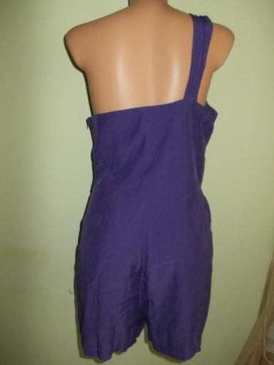 Kombinezon krótki szorty fiolet New Look 38 / 40