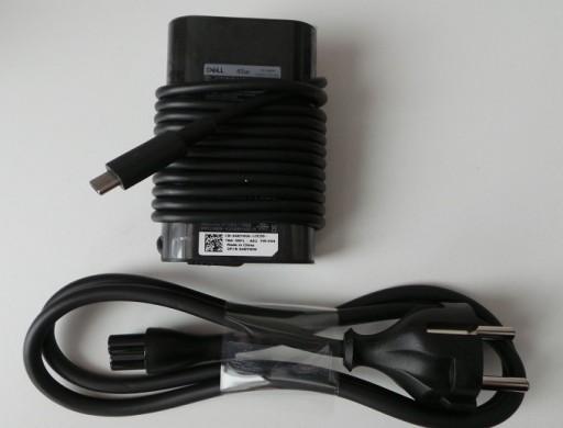 ORYGINAŁ ZASILACZ DELL SLIM 45W USB C XPS 13 9370 7458801307