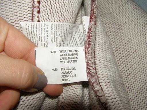 CAMEL sweter ciepły -merynosy rozm. M 7610093372 Odzież Męska Swetry RX YVNQRX-5