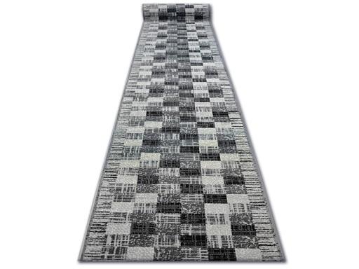Dywany łuszczów Chodnik Base Kwadraty 60cm Q2357