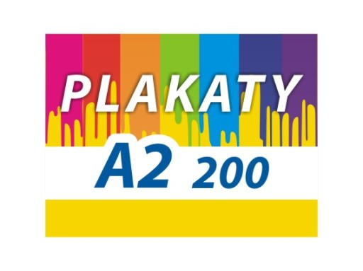 Plakaty A2 200 Szt 48h Super Jakość Plakat Fv