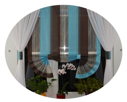 Firany Salonu Pokoju Kuchni Panele Zasłony Ekrany