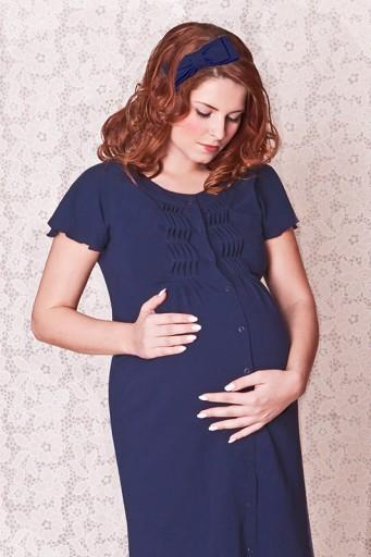 Koszulka do porodu i karmienia, koszula ciążowa S 7551801198  0XSEp