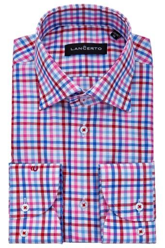 eleganckie koszule w kratę męskie