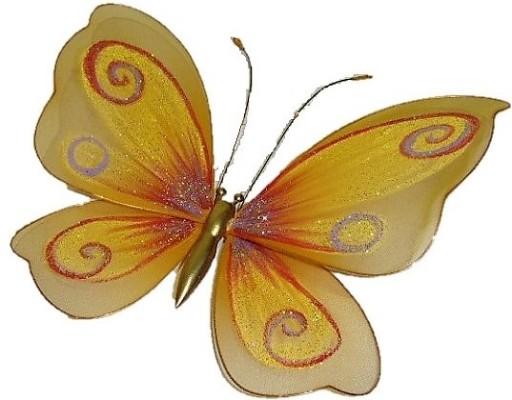 Super Motyle Dekoracja ściana Firana Brokat Duże