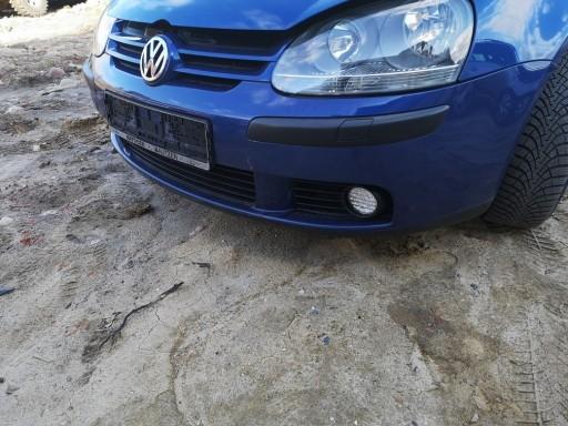 Zderzak Przedni Przod Vw Golf V 5 Lc5j Niebieski Laz Allegro Pl