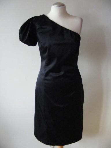 c96f318dfb Asymetryczna sukienka koktajlowa SOLAR roz. M  c  7512800581 - Allegro.pl -  Więcej niż aukcje.