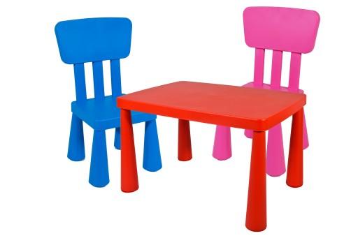 Ikea 2 Szt Krzesełka Stolik Mammut Gratisy