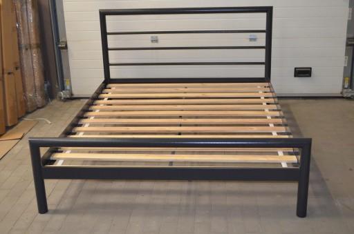 łóżko Metalowe Loft Kaja 140x200 Ze Stelazem