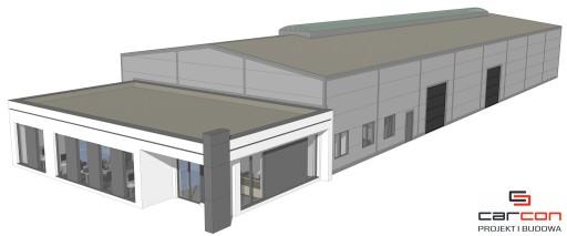 Projekt i budowa Hala stalowa + Biurowiec murowany