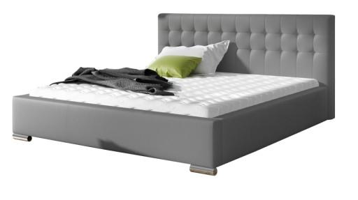 łóżko Jazz Tapicerowane Ekoskóra 160x200 Ribes