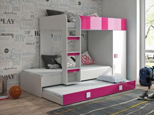łóżko Piętrowe Antresola Toledo 2 Z Drabinką 7261389720 Allegropl