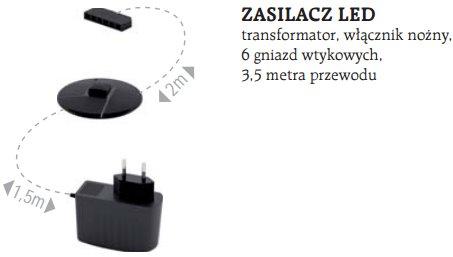 OLIWIER 06/S WITRYNA  Z LED ML MEBLE