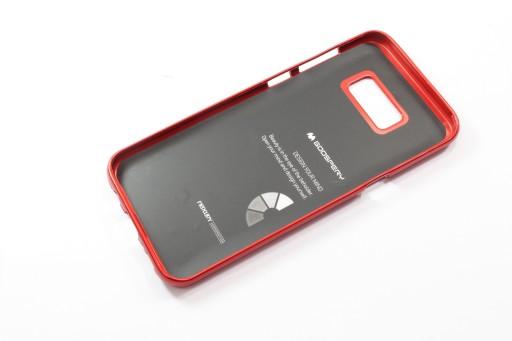 ETUI Mercury i-Jelly + SZKŁO Samsung Galaxy S8 RED