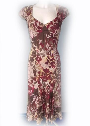 f962c70860 Śliczna WZORY sukienka Marks Spencer! R - 40 7651133354 - Allegro.pl - Więcej  niż aukcje.