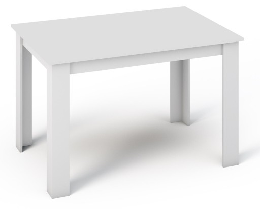 Stół Kongo 120x80 Biały Stolik Do Kuchni Salonu