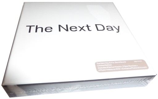 DAVID BOWIE THE NEXT DAY Extra LIMITED BOX 2CD+DVD