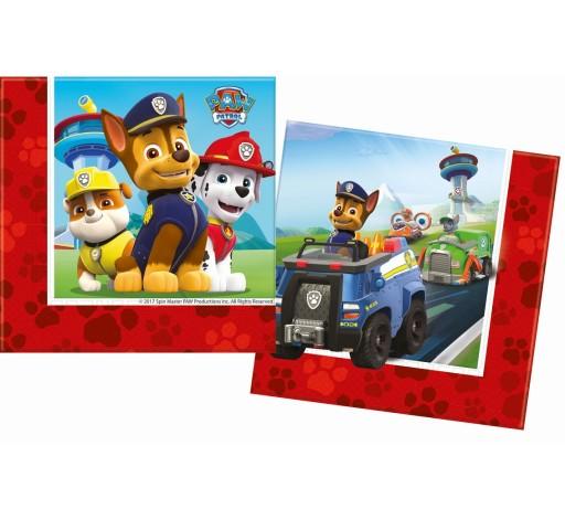 Serwetki Papierowe Urodzinowe Psi Patrol 20 Szt 7380763800 Allegropl