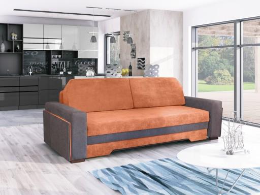 Sofa Idea 3 Tapczan łóżko Salon Oświetlenie Led