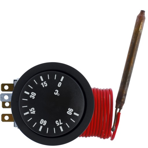 Termostat regulator temperatury z sondą 0..90C