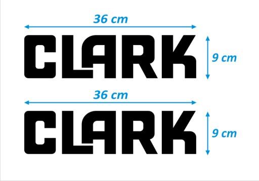 STICKER TRANSFERS - CLARK - 2 PCS. - LT