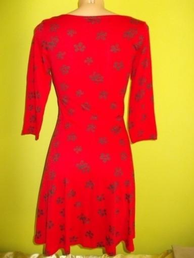 Sukienka rozkloszowana kwiaty Atmosphere ( 38 )