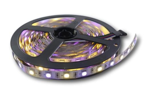 Taśma LED 5050 300 RGBWW kolor biały ciepły 0.5m