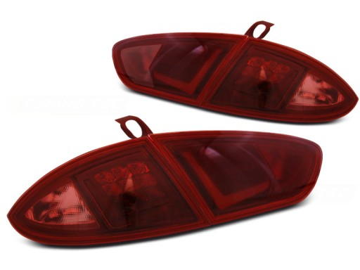 Lampy Tył Seat Leon 1p 09 13 Led Bar Red Diodowe
