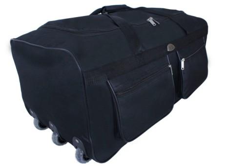 duża TORBA PODRÓŻNA na KÓŁKACH bagaż WALIZKA 100L