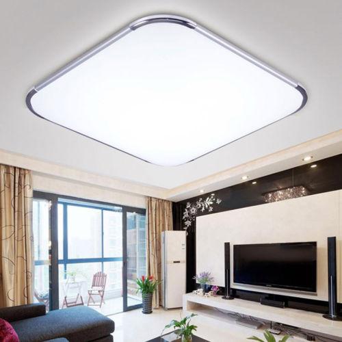 Lampa Led Plafon 36w 45x45 Aluminum Design Sufit 7096934757 Allegro Pl