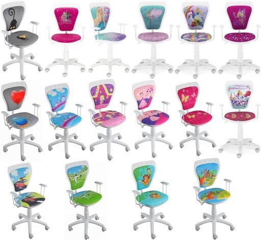 Krzesło różowe Ministyle BUTTERFLY Nowy Styl