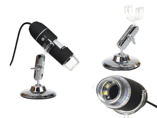 Mikroskop cyfrowy usb 2 mpx przybliŻenie 1600x 7161575200