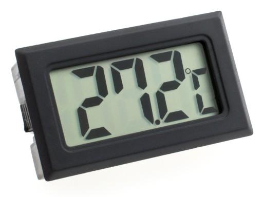TERMOMETR ELEKTRONICZNY CYFROWY LCD SONDA 500cm