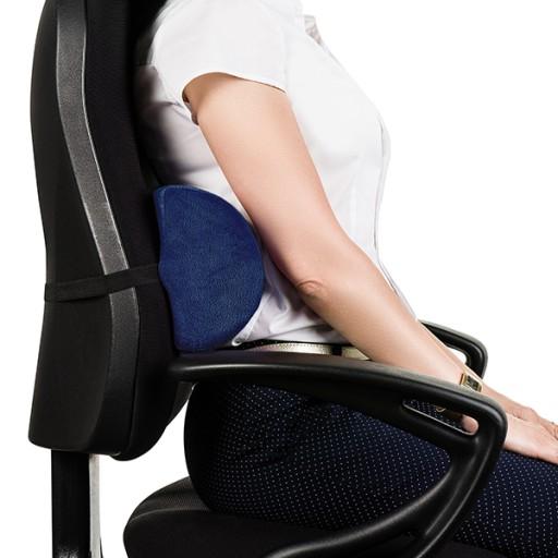 Znalezione obrazy dla zapytania podpórka lędźwiowa na krzesło