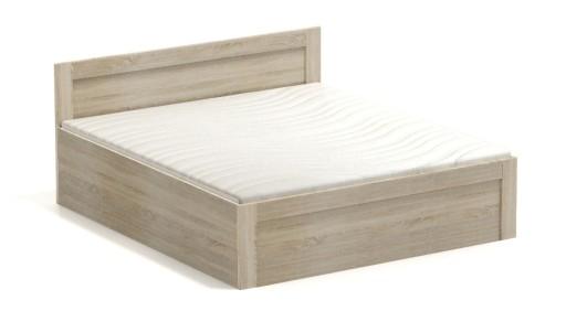 łóżko Oceanik 180 Bez Materaca Z Pojemnikiem