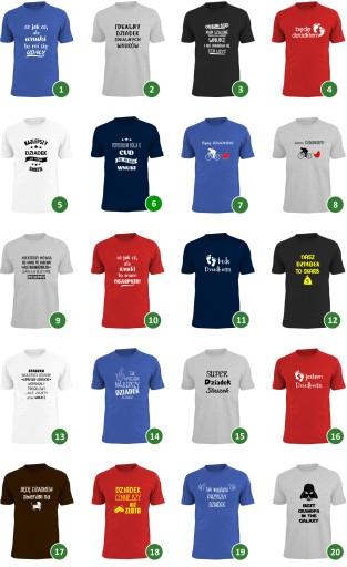 1a85bb66a koszulka z nadrukiem dla dziadka DUŻE ROZMIARY on 7653380263 ...