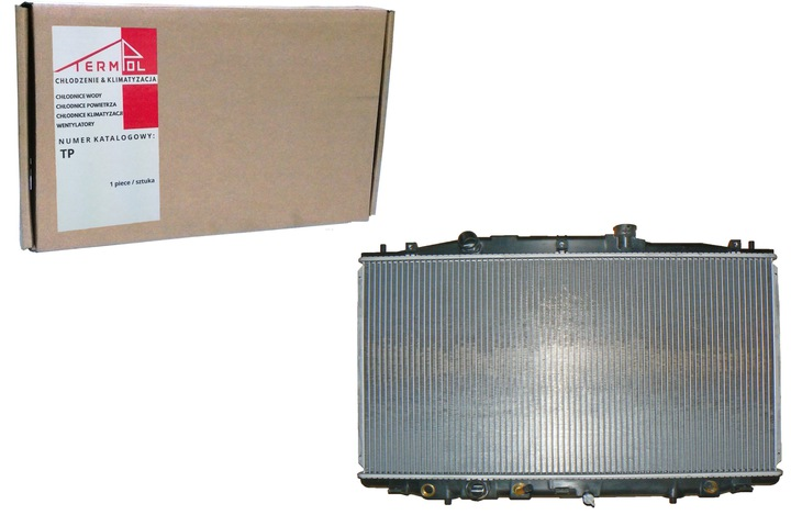 радиатор основной охлаждения двигателя honda accord viи 2.4 и 16v 03-05