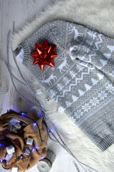 ZESTAW ŚWIĄTECZNY DLA PAR ON ONA SWETER ZESTAW 8615862362 Odzież Damska Swetry TX BQGYTX-2