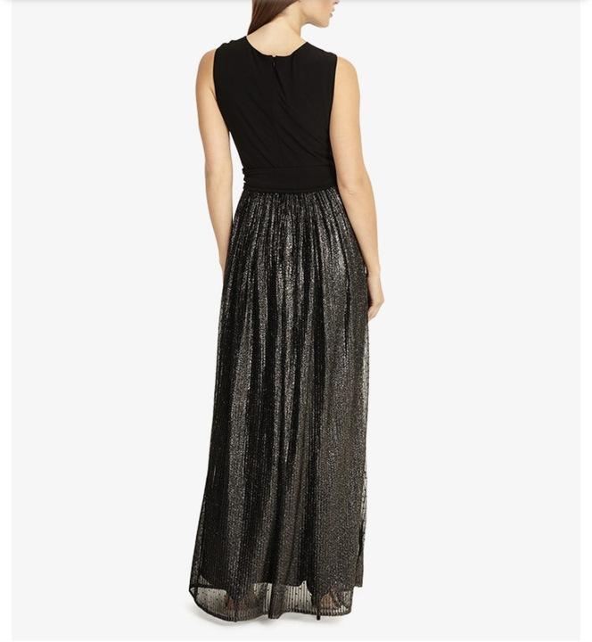 sukienka długa tiulowa plisowana 42 Phase Eight 9185688614 Odzież Damska Sukienki wieczorowe MH TOTCMH-9
